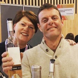 Wine Paris - Denise and Alex from Domaine Des Jeanne