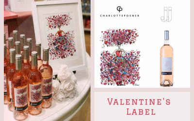 Valentine's Day Label