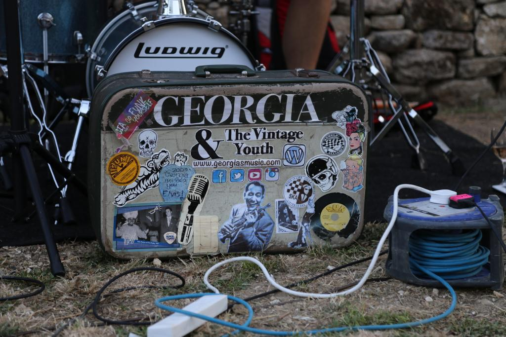 Georgia and the Vintage Youth setup