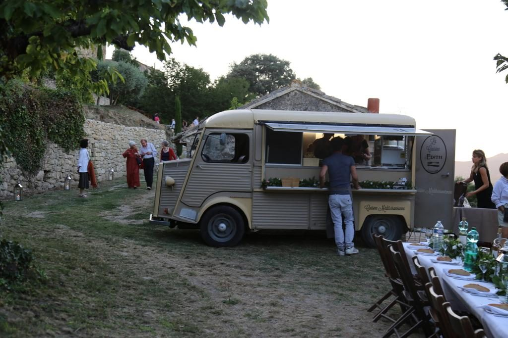 Édith Malric's food truck